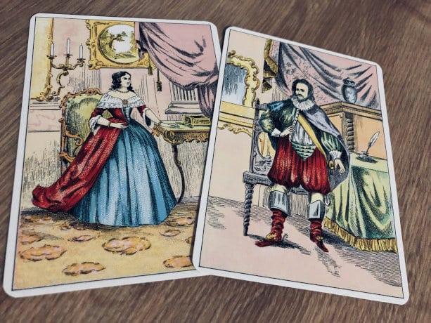 Les cartes Consultant et Consultante du Grand Lenormannd