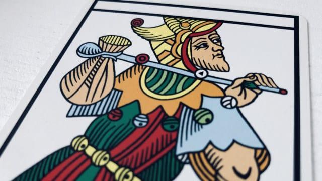 Le Mat Tarot de Marseille version Camoin : une arcane sans nombre