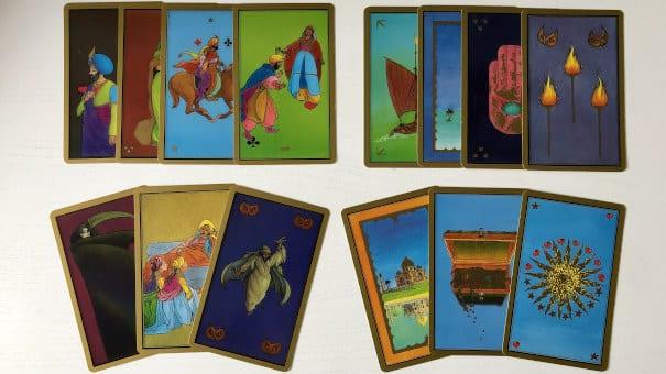 Les cartes majeures du Tarot Persan Indira