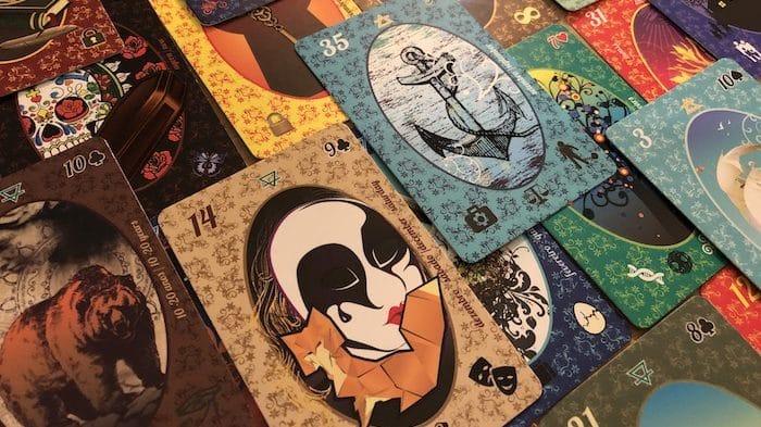 Cartes Petit Lenormand Esmeralda