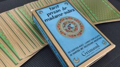 Le Tarot Persan de Madame Indira (Grimaud)
