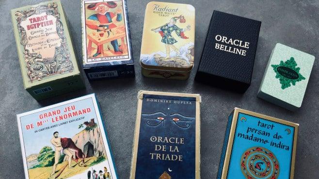 Quelques jeux de cartes pour pratiquer la cartomancie