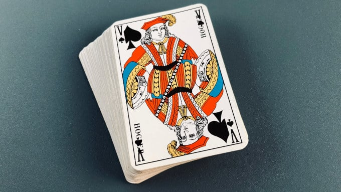 Le Valet de Pique dit Chien de Pique dans le Jeu de 32 cartes