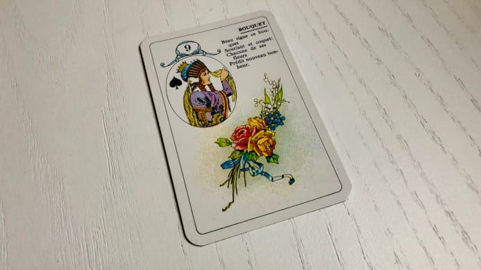 Le Bouquet - Carte n°9 - Petit Lenormand