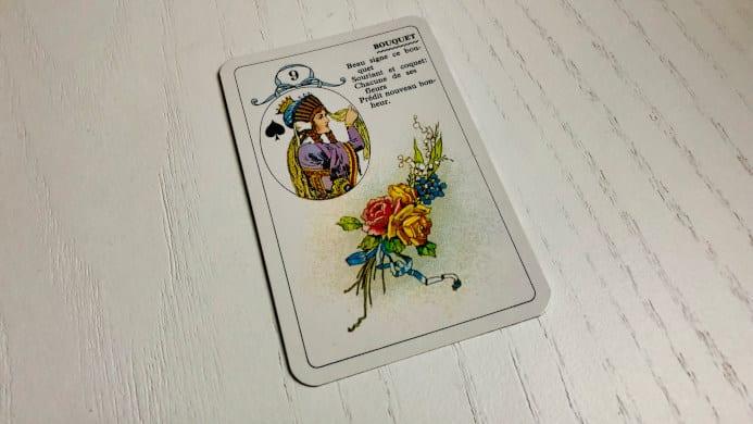 Le Bouquet - Carte n°9 - Petit Lenormand
