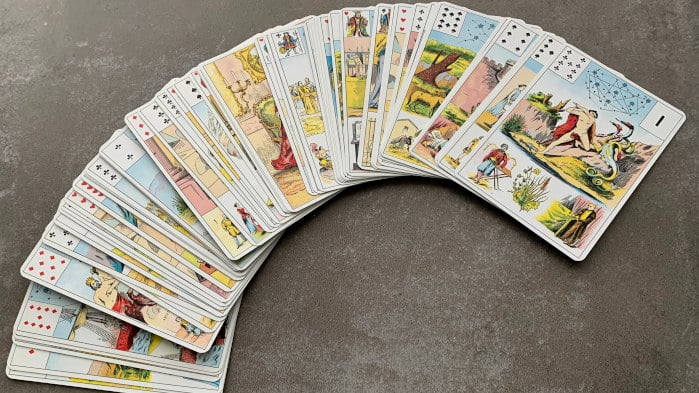 Jeu de tarot du Grand Lenormand