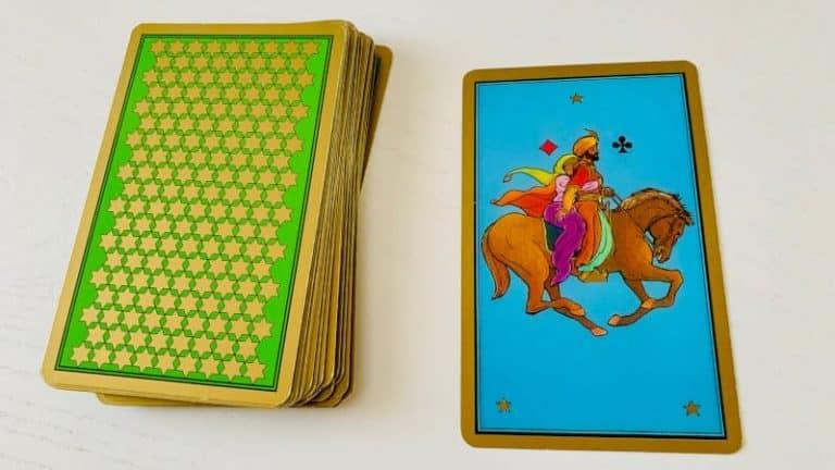 La carte Mariage du Tarot Persan Indira, comment qualifier cette lovestory ?