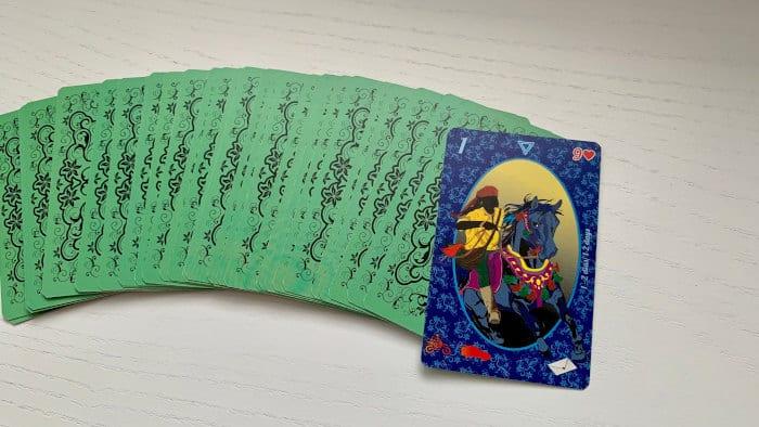 Le Cavalier - Carte n°1 - Petit Lenormand Esmeralda