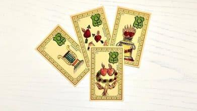 Des cartes de l'Oracle Belline qui évoquent l'amour
