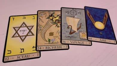 Oracle de la Triade les cartes du temps