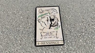 Oracle de la Triade - Mensonge - Carte 4