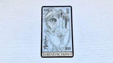 Oracle de la Triade - Bénédiction - Carte 21