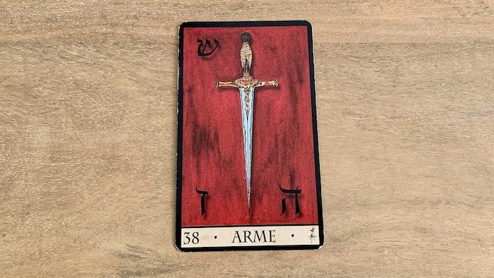Oracle de la Triade - Arme - Carte 38