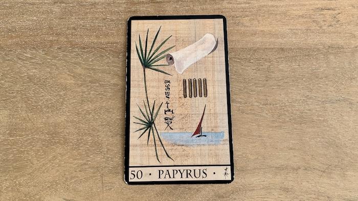 Oracle de la Triade - Papyrus - Carte 50