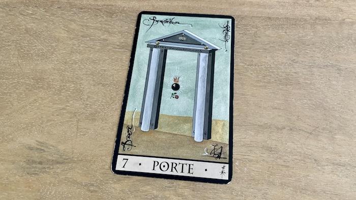 Oracle de la Triade - Porte - Carte 7