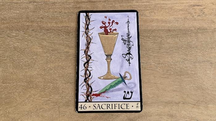 Oracle de la Triade - Sacrifice - Carte 46