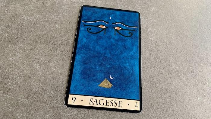 Oracle de la Triade - Sagesse - Carte 9