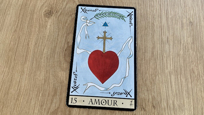 Oracle de la Triade - Amour - Carte 15
