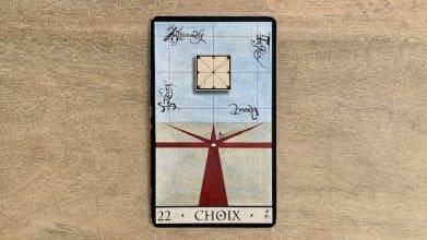 Oracle de la Triade - Choix - Carte 22