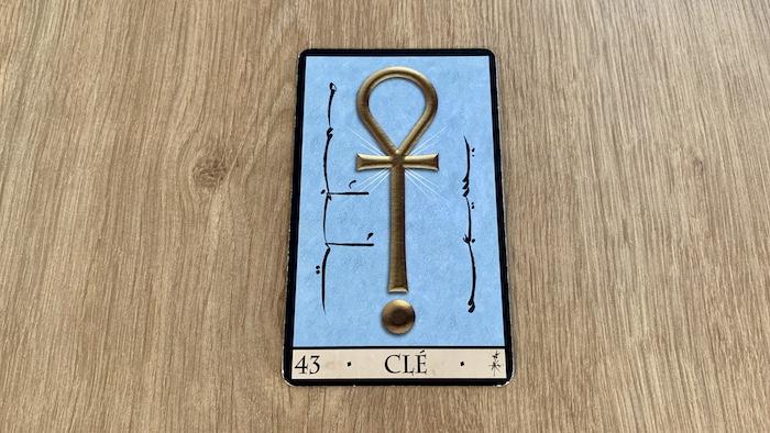 Oracle de la Triade - Clé - Carte 43