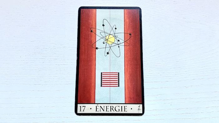 Oracle de la Triade - énergie - carte 17