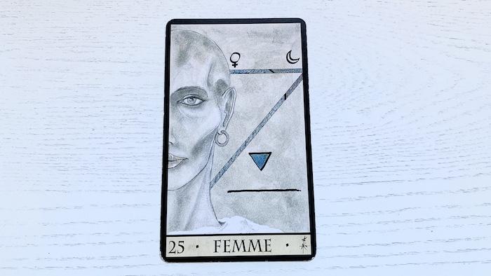 Oracle de la Triade - Femme - Carte 25