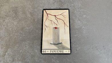 Oracle de la Triade - Foudre - Carte 44