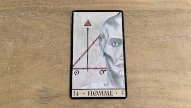 Oracle de la Triade - Homme - Carte 14