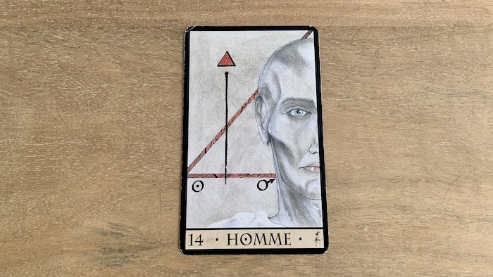 Oracle de la Triade - Homme - Carte 14