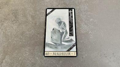 Oracle de la Triade - Malheur - Carte 40