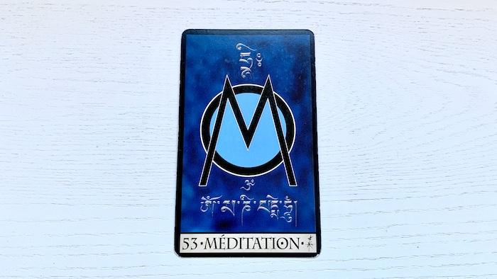 Oracle de la Triade méditation 53