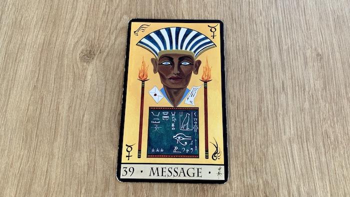 Oracle de la Triade - Message - Carte 39