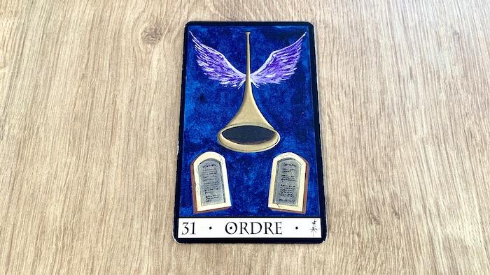Oracle de la Triade - Ordre - Carte 31