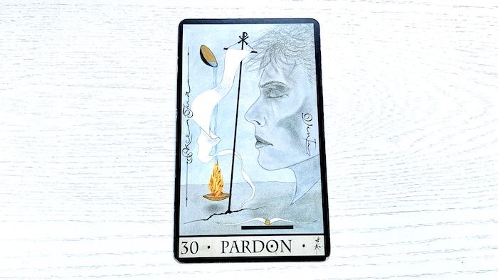 Oracle de la Triade - Pardon - Carte 30
