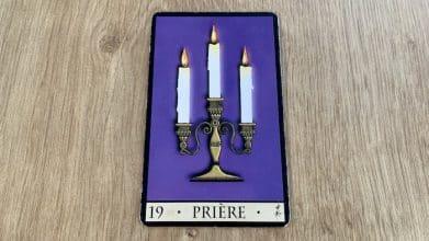 Oracle de la Triade - Prière - carte 19