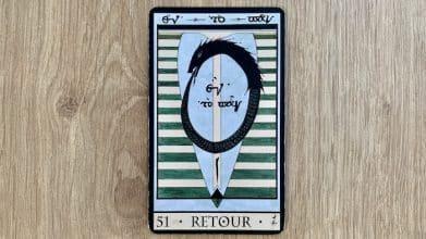 Oracle de la Triade - Retour - Carte 51
