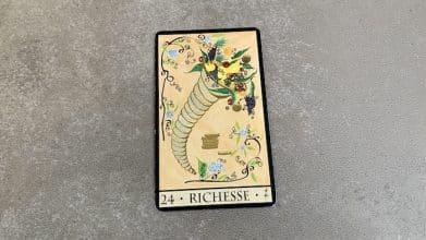 Oracle de la Triade - Richesse - carte 24