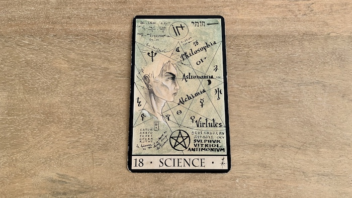 Oracle de la Triade - Science - Carte 18