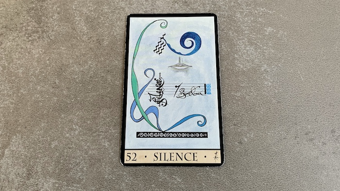 Oracle de la Triade - Silence - Carte 52