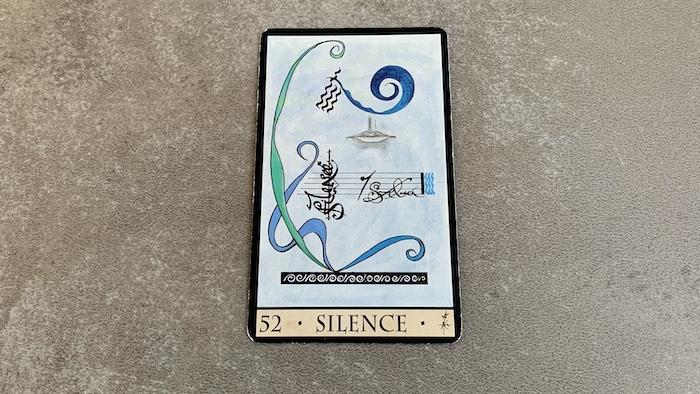 Oracle de la Triade - Silence - Carte 52