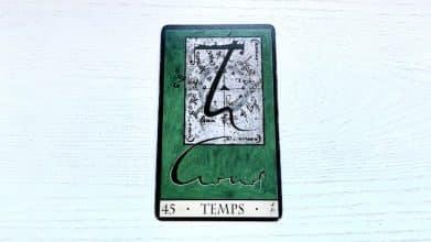 Oracle de la Triade - Temps - Carte 45
