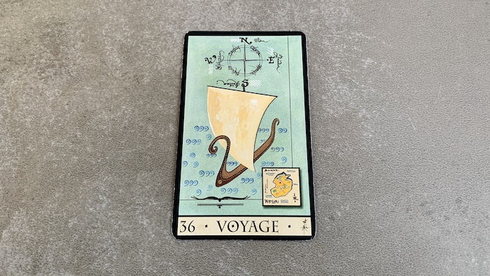 Oracle de la Triade - Voyage - Carte 36
