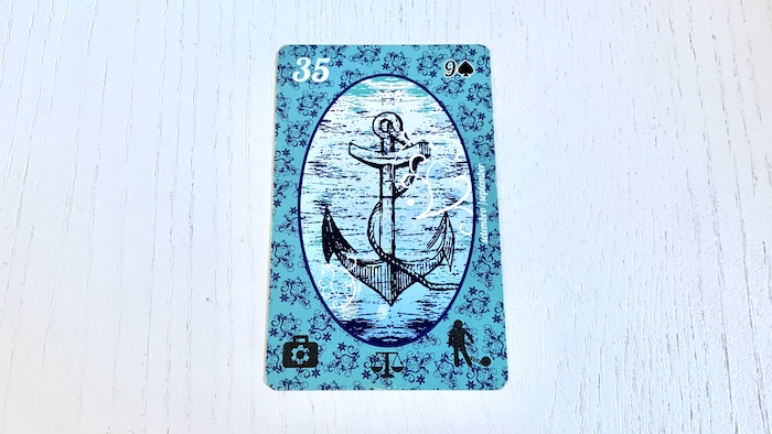 Petit Lenormand - Ancre - Carte 35