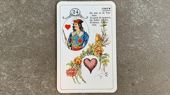 Petit Lenormand - Le Coeur (24)