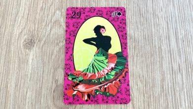 Petit Lenormand - la Dame - Carte 29