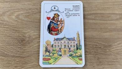 Petit Lenormand - Maison et associations de cartes (4)