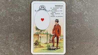 Petit Lenormand - Le Monsieur et ses associations de cartes(28)