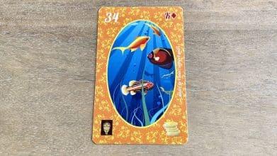 Petit Lenormand - Les Poissons - Carte 34
