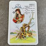 Petit Lenormand : le Serpent et les associations de cartes