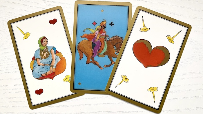 Tarot des amoureux avec le tarot Persan Indira